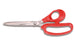 "Wolff® 6194-LR RED 9-5/8"" Ergonomix® Industrial Scissors - 6000 Series Stainless Steel Shears"