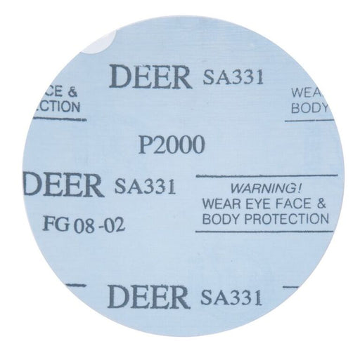 Korean Microfinishing Pressure Sensitive Adhesive (PSA) Film Disc