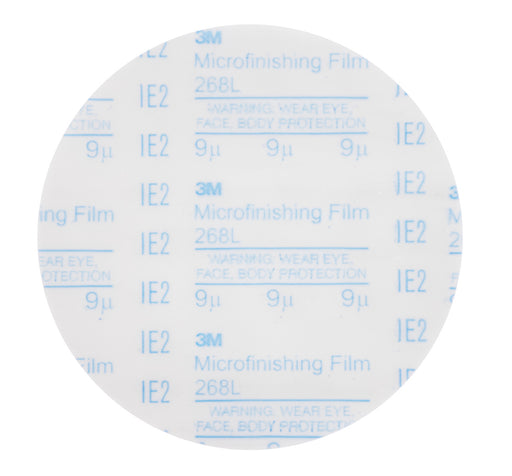 3M™ Microfinishing­ Pressure Sensitive Adhesive (PSA) Film Disc