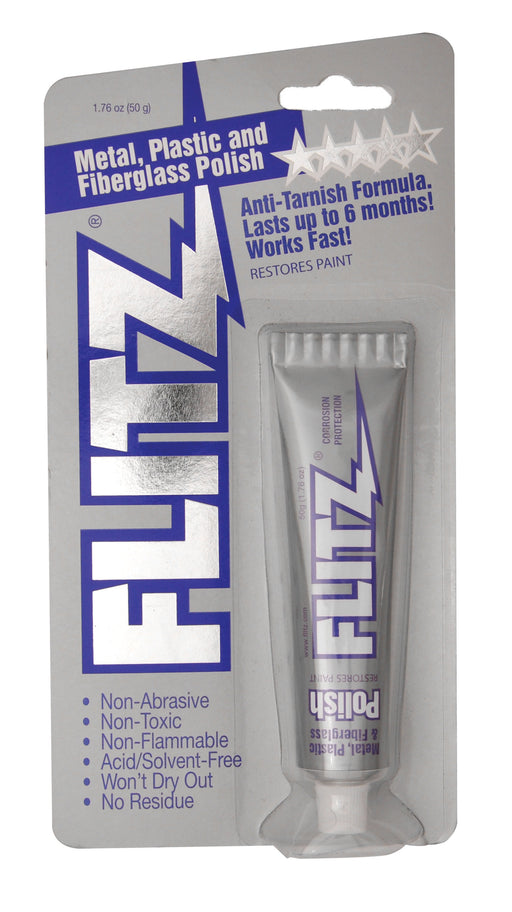 Flitz Metal Polish - High Luster On Blued Steel, Aluminum, Brass, Plastic, Glass