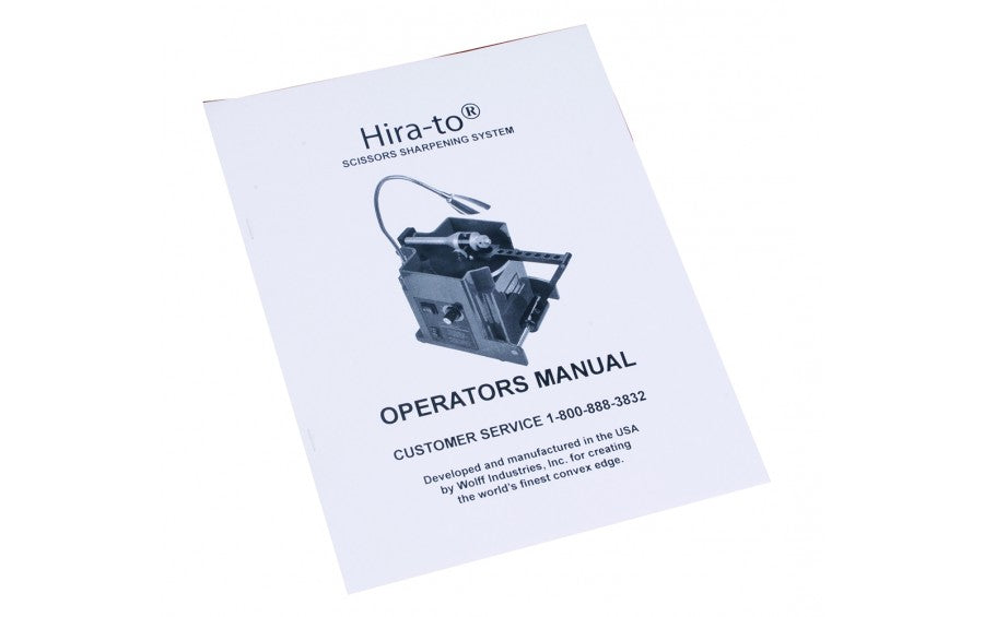 Hira-To® Operator's Manual