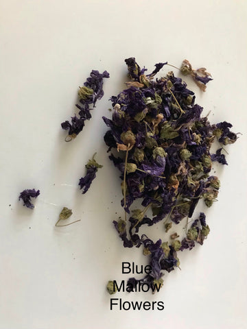 Blue Mallow Flowers 10g