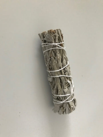 California White Sage Smudge Stick (4 inch)