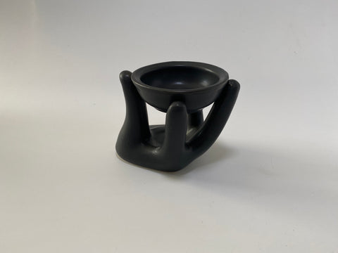 Helping Hand Oil Burner - Black
