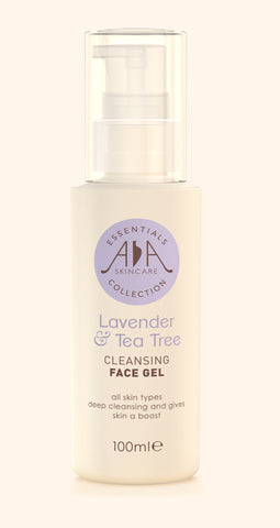 Lavender & Tea Tree Cleansing Face Gel 100ml, by AA Skincare