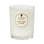 Basil, Bay & Lime Mini Pot Candle (20 hours)