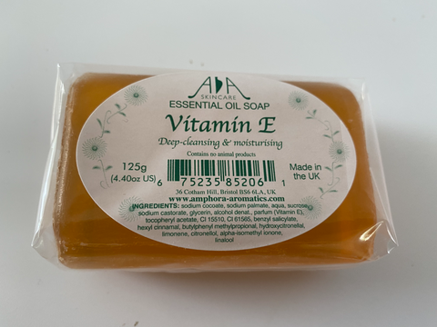 Vitamin E Clear Glycerin Soap 125g