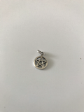 Silver Tiny Pentagram Pendent 20mm (Five Elements)