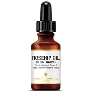 Rosehip Oil 25ml Dropper Amphora Aromatics Beauty Oil