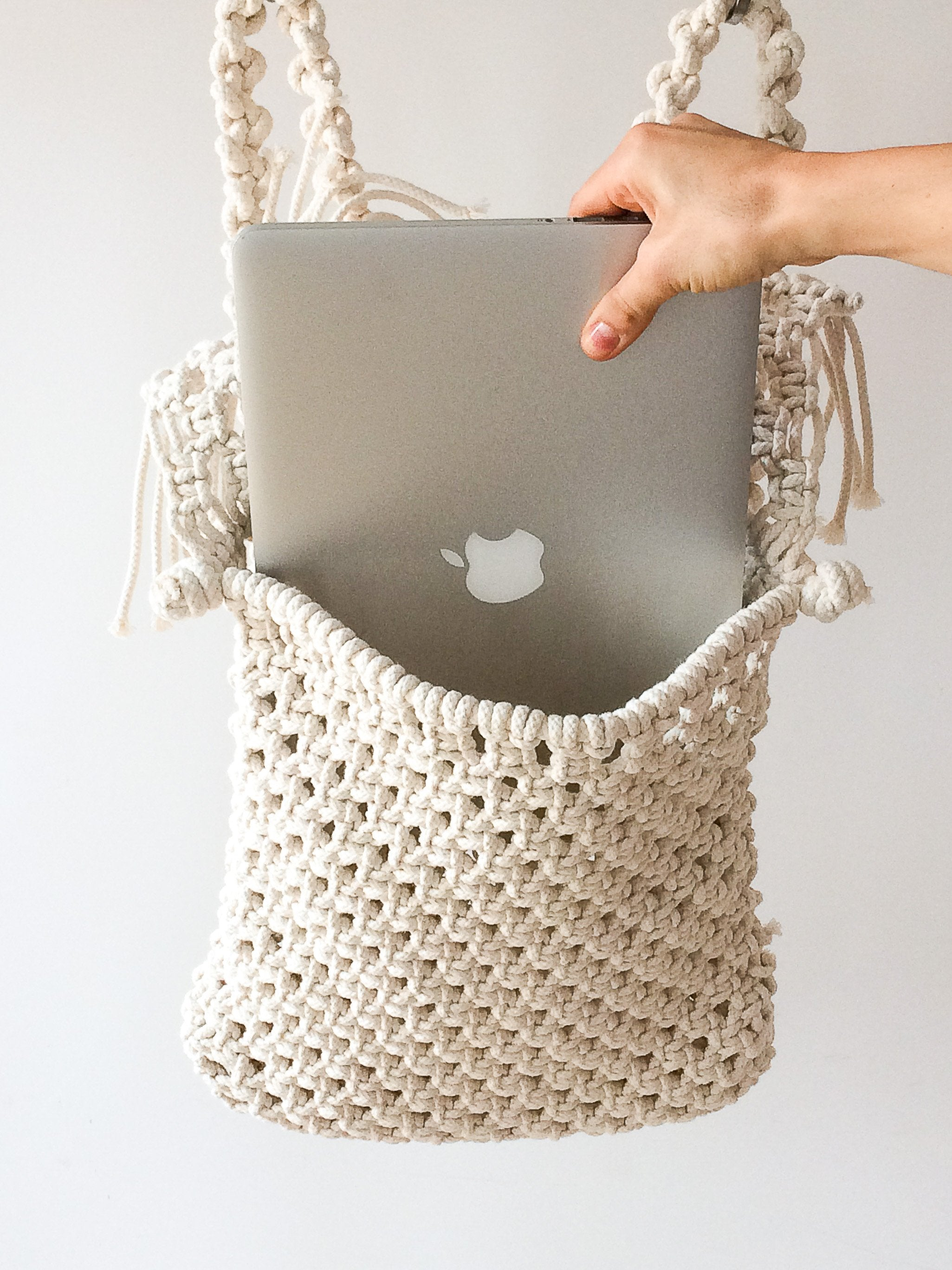 Vagabond Macramé Backpack
