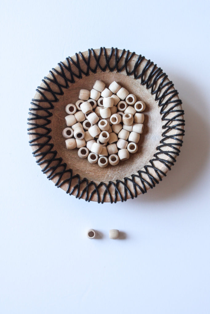 Pack of 4 Wooden Beads