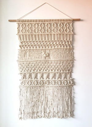 Giant Massala  Macramé Wallhanging