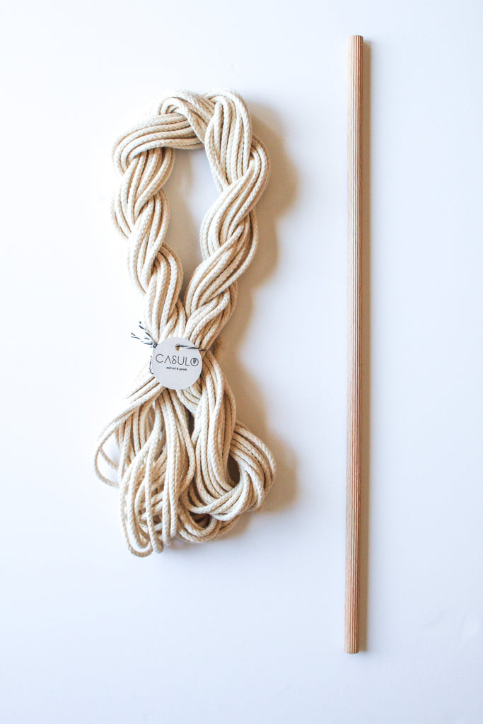 Small Macramé Wallhanging Kit