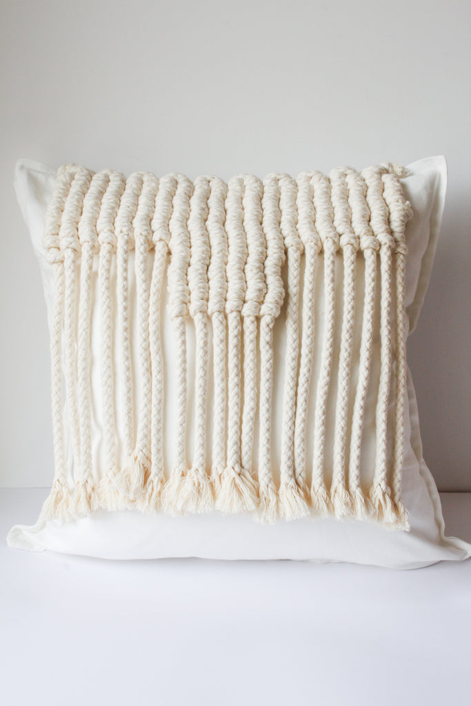 Cocoon Macramé Pillowcase