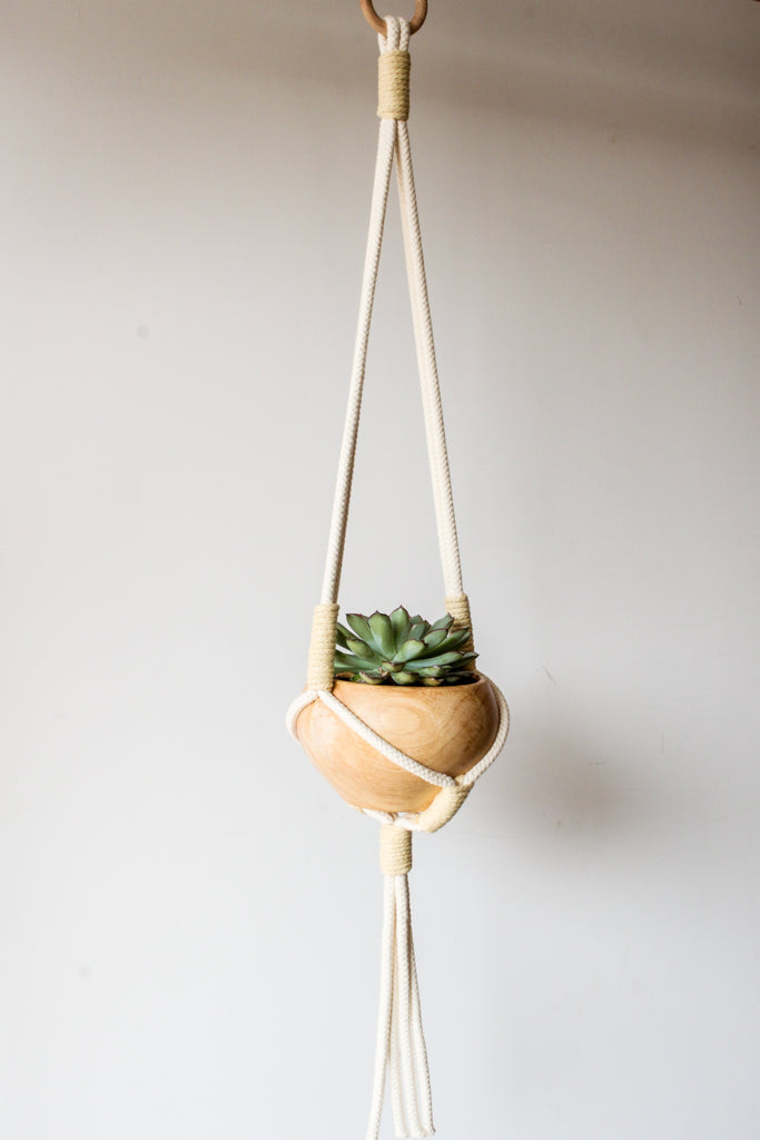 Kingston Macramé Plant Hanger