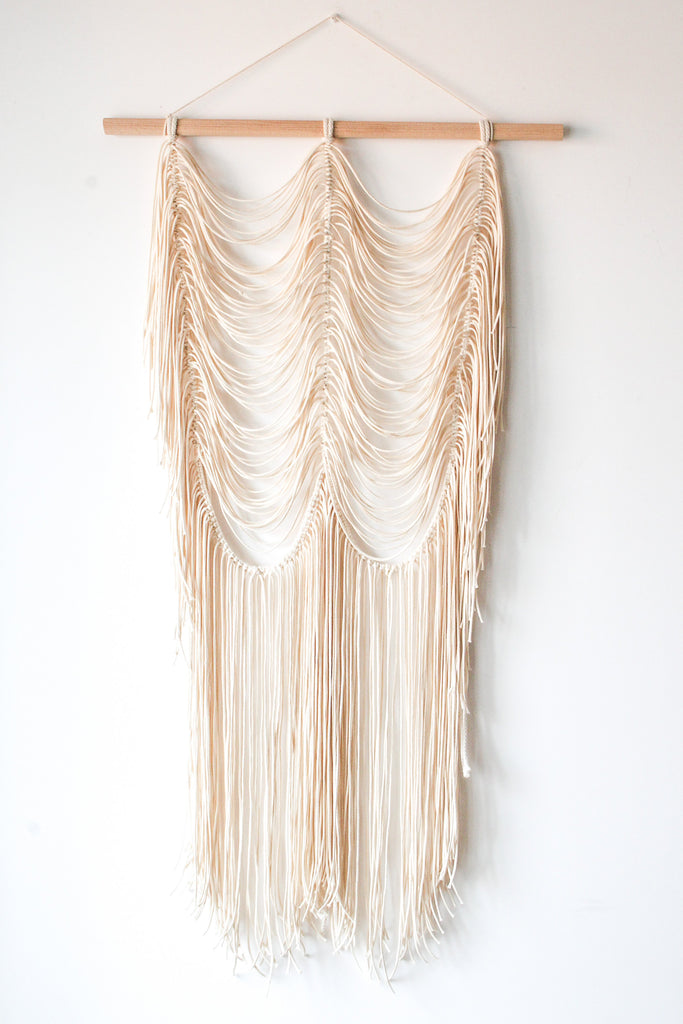 Peackock Macramé Wallhanging