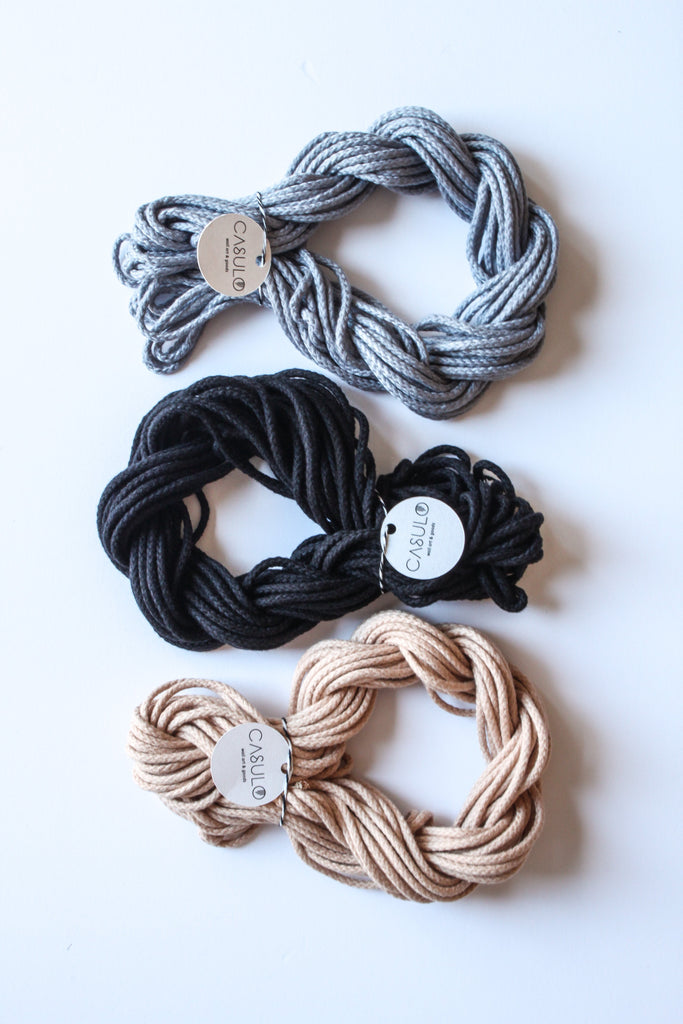 Macramé Colored Cotton Rope