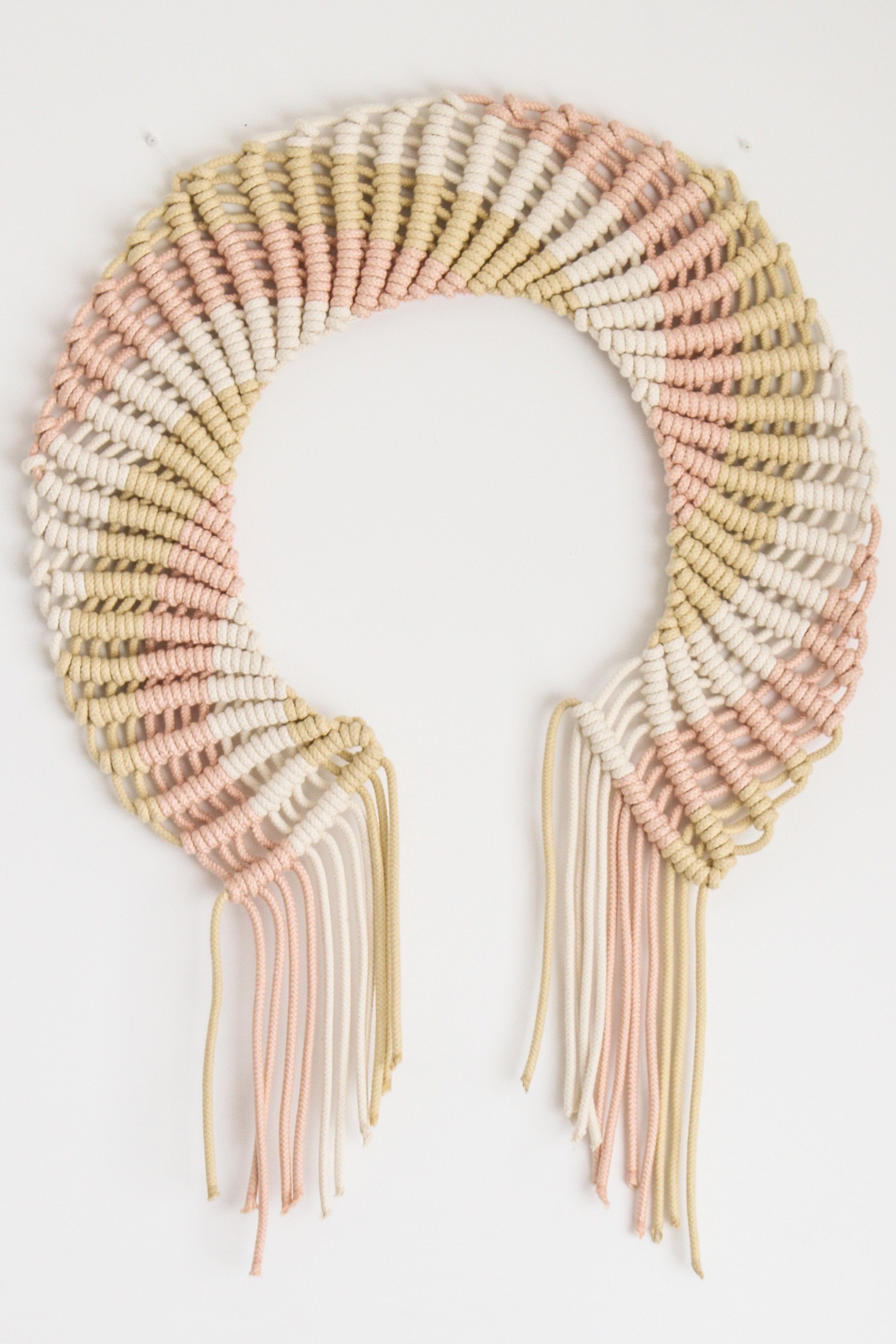 8mm Light Pink Macramé Rope