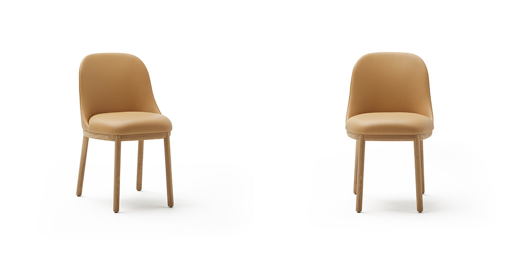 Aleta Chair Wooden Base