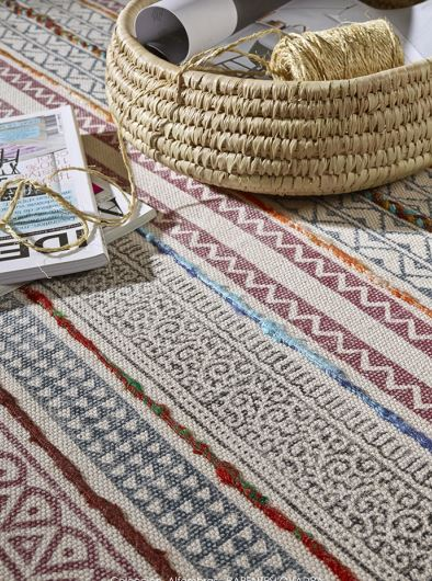 Happy mediterranean carpet Casulo cotton