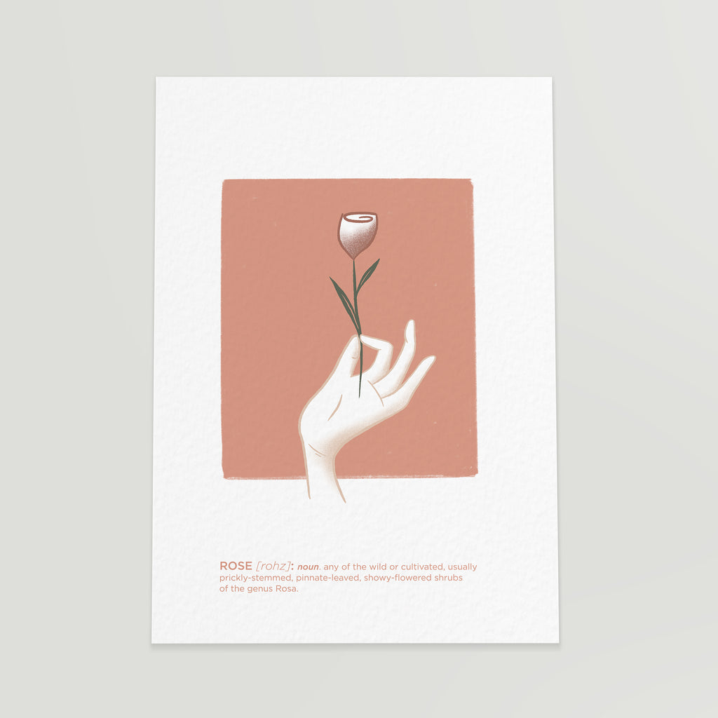print rose vanessa illustration casulo curated shop