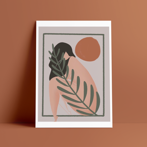 print quadro tela vanessa illustration casulo curated shop
