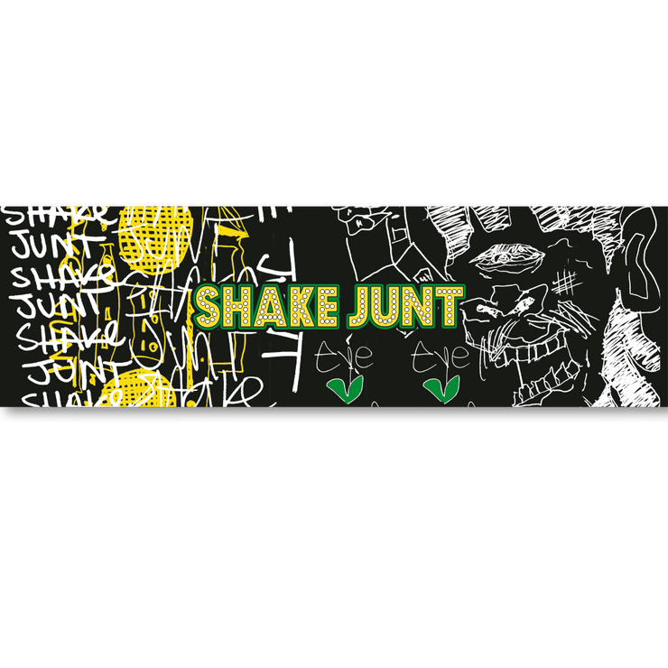 "Shake Junt Stickers ""Zach"" 10-pack"