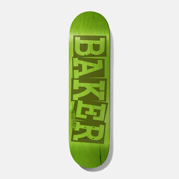 "Baker Reynolds ""Ribbon Name"" green  8,125"""