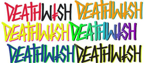 "Deathwish Stickers ""Deathspray"" assorted 12-pack"