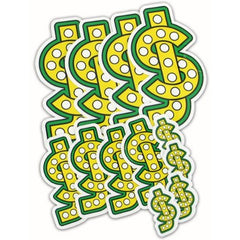 "Shake Junt Stickers ""logo"" 12-pack"