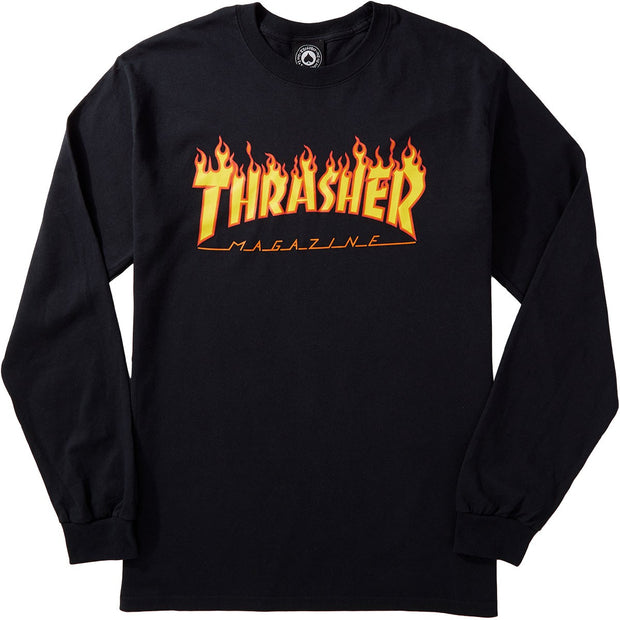 "Thrasher t-shirt longsleeve ""FLAME"" SMALL"