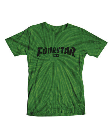 "Fourstar t-shirt  ""Highspeed tie dye"""
