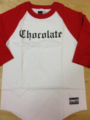 "Chocolate 3/4 sleeve raglan ""Eazy-c"""