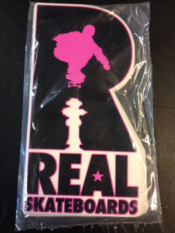 "Real Sticker  ""Hydrant"" Large  25-pack"
