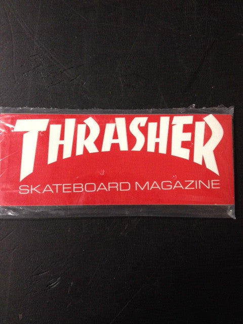 "Thrasher Sticker  ""Skatemag"" Medium  25-pack"
