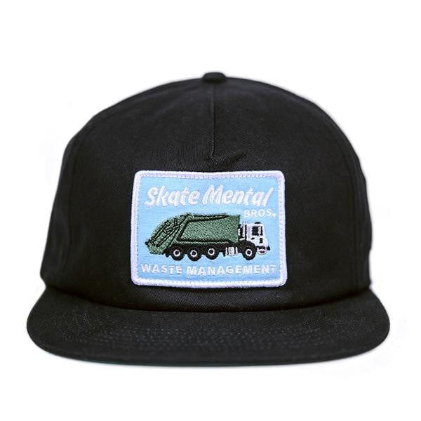 "Skate Mental Cap ""Waste Management"" black"