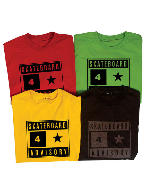 "Fourstar t-shirt  ""advisory"""