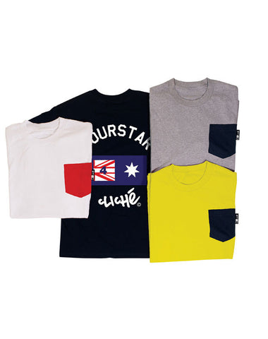 "Fourstar t-shirt  ""brophy pocket"" cliche"