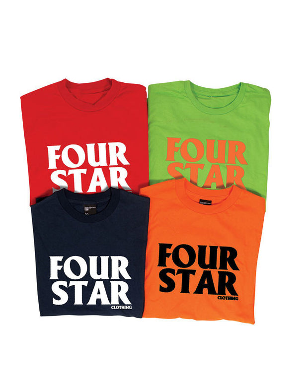 "Fourstar t-shirt  ""four hero"" youth"