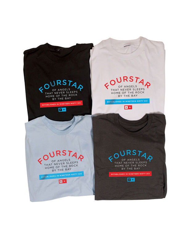 "Fourstar t-shirt  ""new label"""