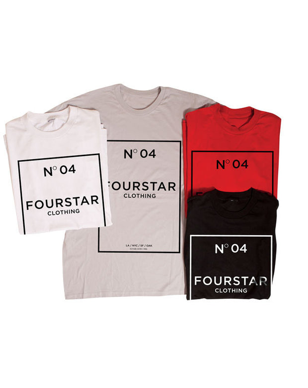 "Fourstar t-shirt  ""no. 04"""