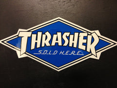 "Thrasher sticker ""dealer"""