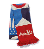 "Chocolate scarf ""20 year"""