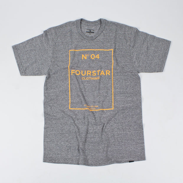 "Fourstar t-shirt triblend  ""no. 04"""