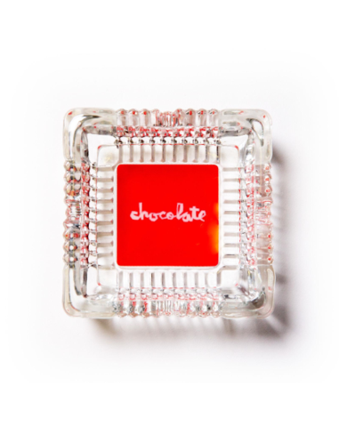 "Chocolate ""ASHTRAY"" clear"