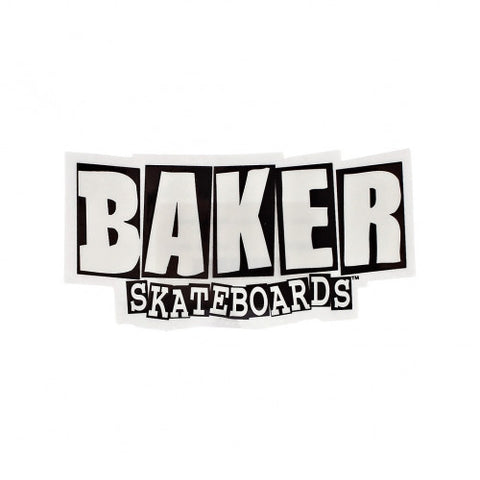 "Baker Stickers ""Brand logo"" 10-pack"