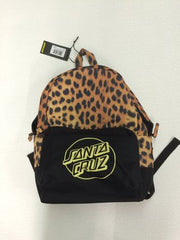 Santa Cruz Leopardskin Backpack
