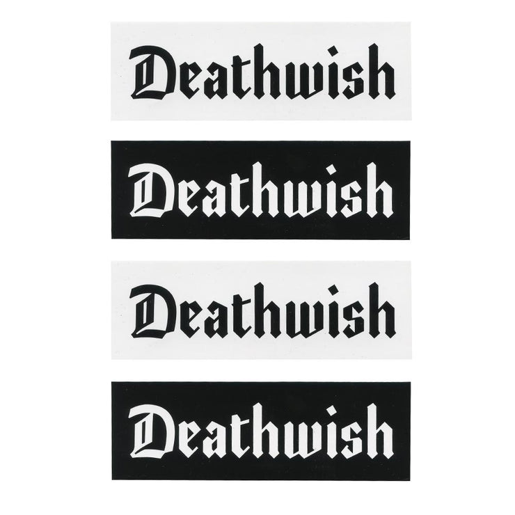 "Deathwish Stickers ""Lounge"" assorted 10-pack"