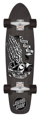 Santa Cruz Pray For Me Skeleton Jammer Cruzer 7,4""