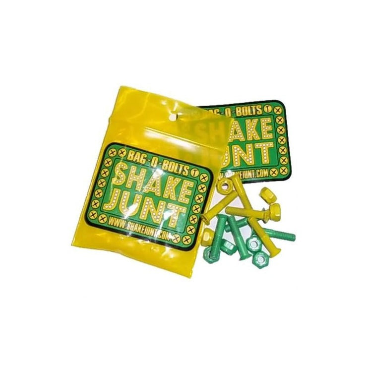 "Shake Junt hardwear ""All Green/Yellow"" phillips"